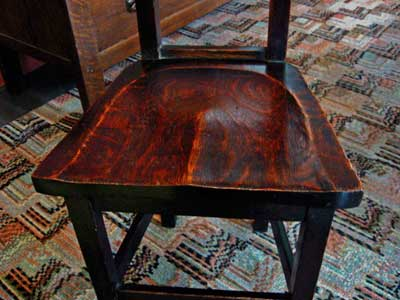 Antiques Stickley Furniture On Early Stickley Brothers Hall Chair